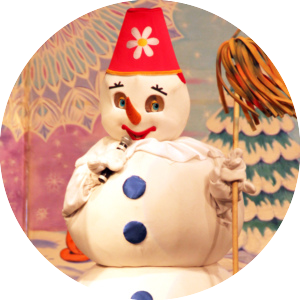 Снеговик (большой)