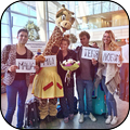 Жирафа в Домодедово