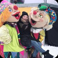 """Куклы-Скоморохи на фестивале """"Выходи гулять!"""""""