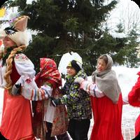 Масленичная Коза в Ломоносовской школе